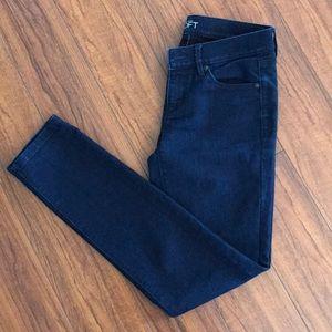 Ann Taylor Loft Modern Skinny Dark Blue Jeans 25/0